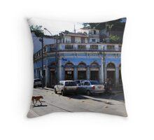 san telmo, rio de janeiro, brazil Throw Pillow