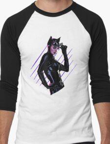Catwoman Men's Baseball ¾ T-Shirt