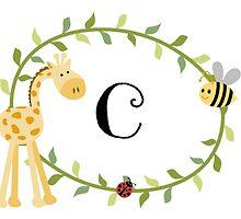 Nursery Letters C by mezzilicious