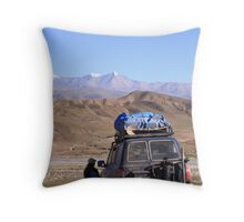bolivian highlands Throw Pillow
