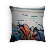Cool Room Throw Pillow
