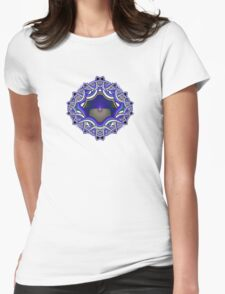 The Celtic knot Womens Fitted T-Shirt