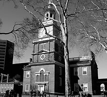 Independence Hall by Brian Betteridge