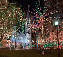 Public Square Holiday by MClementReilly