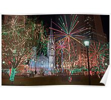 Public Square Holiday Poster