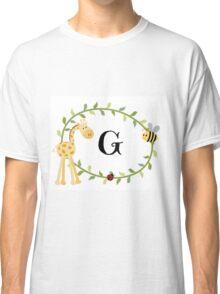 Nursery Letters G Classic T-Shirt