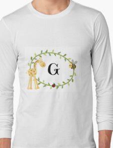 Nursery Letters G Long Sleeve T-Shirt