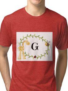 Nursery Letters G Tri-blend T-Shirt