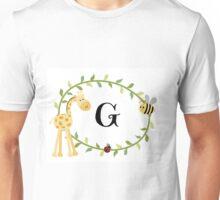 Nursery Letters G Unisex T-Shirt