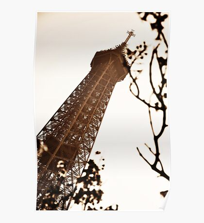 Tower in Sepia Poster