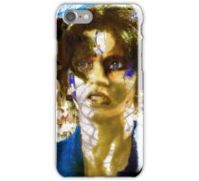 With the Wind in Her Hair iPhone Case/Skin