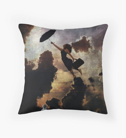 colour us in Throw Pillow