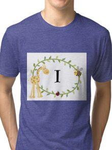 Nursery Letters I  Tri-blend T-Shirt