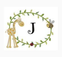 Nursery Letters J Baby Tee