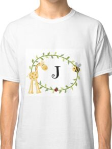 Nursery Letters J Classic T-Shirt