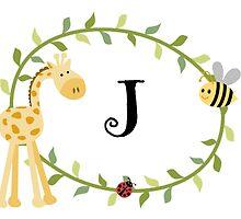 Nursery Letters J by mezzilicious