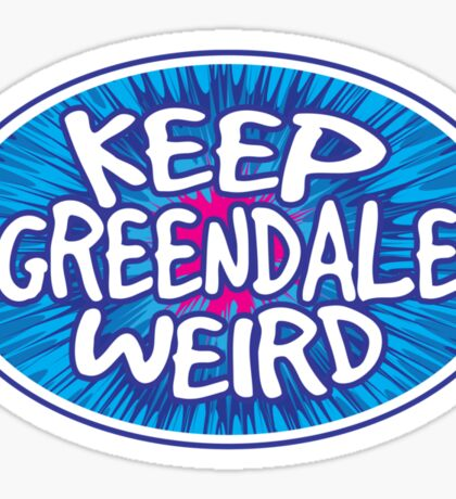 Keep Greendale Weird Sticker