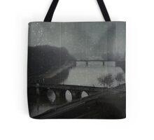_ over the bridge _ Tote Bag