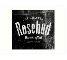 Rosebud company Sled Makers Art Print
