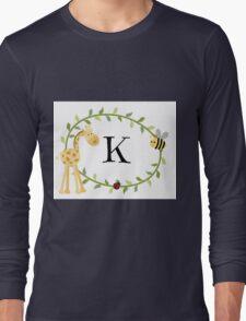 Nursery Letters K Long Sleeve T-Shirt