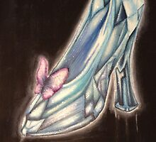 Glass Slipper by AlwaysRoseArt