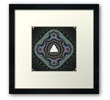 'Seed Crystal' Framed Print