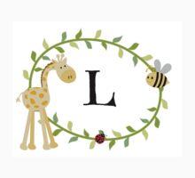 Nursery Letters L Kids Tee