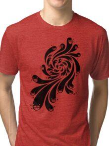 Happy Splash - 1-Bit Oddity - Black Version Tri-blend T-Shirt
