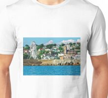 Torquay - A Cruise Ship View, Devon, England Unisex T-Shirt