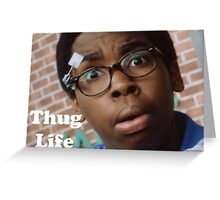 Cookie- Thug Life Greeting Card