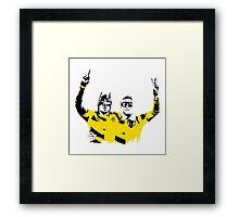 Dortmund Robin Reus Bataubameyang Design Framed Print