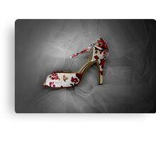 Wedding Shoe Canvas Print