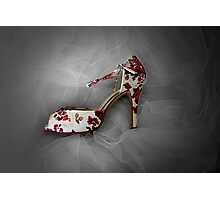Wedding Shoe Photographic Print
