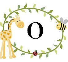 Nursery Letters O by mezzilicious
