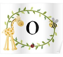 Nursery Letters O Poster