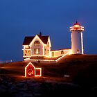 Nubble Christmas by Jim  Walline