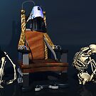 New World Order Truth Chair - The Skeletons Lied by dakota1955