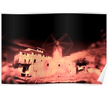 Windmill Distortion 8322 Poster