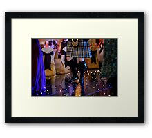 Knees Up! Framed Print