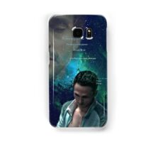 Soft Black Stars  Samsung Galaxy Case/Skin