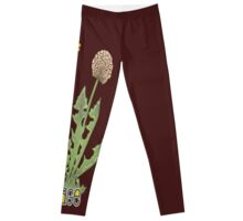 forage! dandelion shirt. Leggings