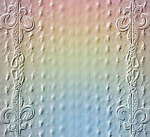 Paper Fleur de Lis 6 by AhArtography