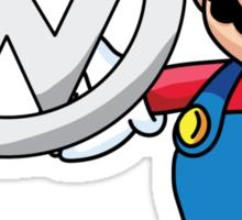 Mario VW Sticker