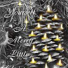Frosty Pine cone all aglow by TLCGraphics