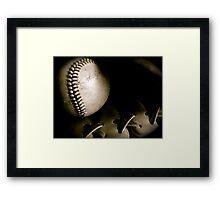 Play Ball Framed Print