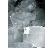 Ice Cubes Photographic Print