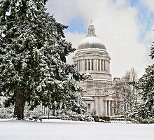 Winter Capitol  by Sabrina Thompson