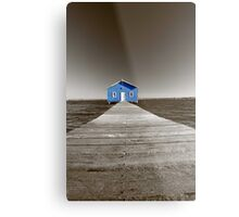 Crawley Edge Boatshed  Metal Print