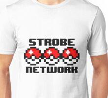 8-bit Pokéball StrobeNetworkRecords Design  Unisex T-Shirt