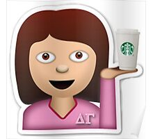 Sorority Girl Emoji Poster